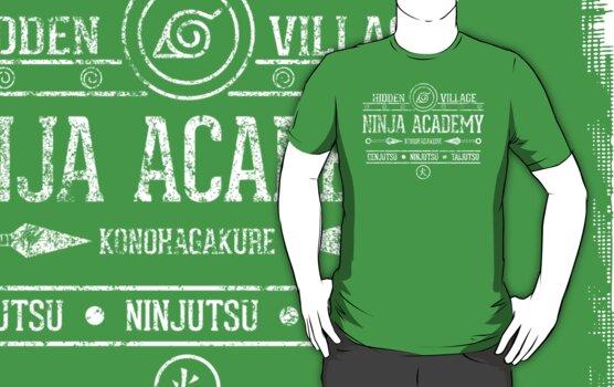 Ninja Academy by TeeKetch