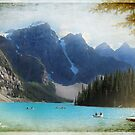 Lake Moraine textured version by Olga