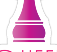 The Queen (Chess) Cartoon Graphic Sticker
