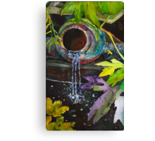 Jungle Water Canvas Print