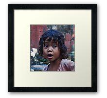 Cambodian Boy Framed Print