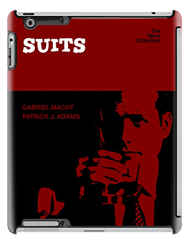 Suits, retro Ipad  Case by dgoring