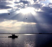 INDIAN RIVER SUNRISE by TomBaumker