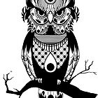 Patterned Owl by Look Human