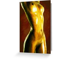 Beauty of Woman Greeting Card