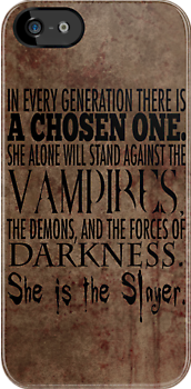 Buffy-The Chosen One by geekgal212