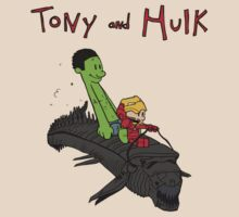 Tony and Hulk by TylerScott