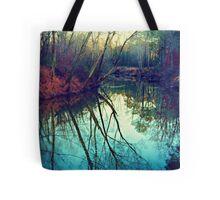 The Darkened Stream Tote Bag