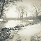 An old English winter scene by gails-world