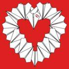 Paperman Heart Pocket by farkland
