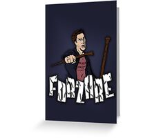 Forzare! Greeting Card