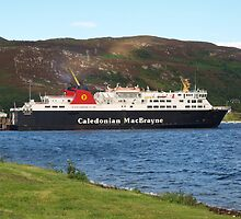 Caledonian Ferry by kalaryder