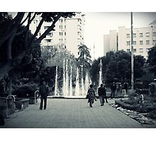 In the park. Photographic Print