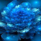 Blue Petals by wolfepaw