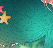 Art Nouveau - Mermaid Sticker