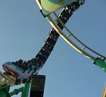 Roller Coaster Loop (Desert Storm) by MontagnaMagica