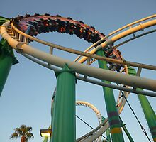 Desert Storm Loop (Roller Coaster) by MontagnaMagica