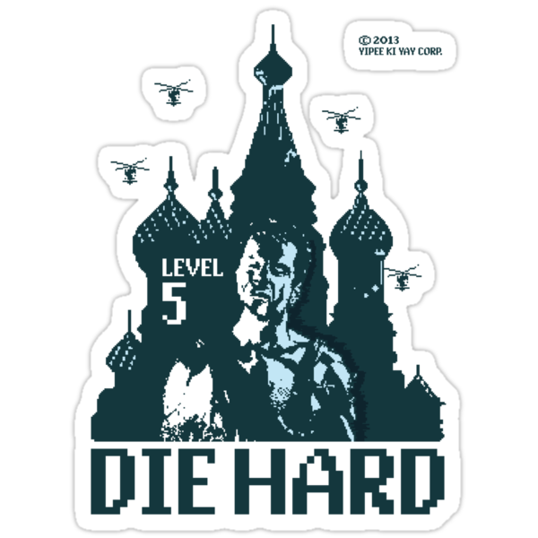 Die Hard... Level 5! by loku