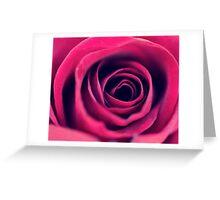 Red Swirls  Greeting Card