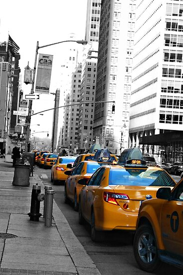 Big Yellow Taxi... by Jeanette Muhr