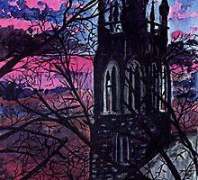 'ST. JOHN'S CHURCH (Plattsburgh, NY)'  by Jerry Kirk