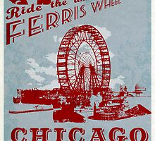 The amazing Ferris Wheel! by ThePencilClub