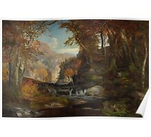 A Scene on the Tohickon Creek: Autumn, 1868 Poster