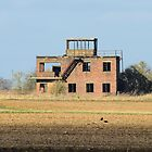 The Old Tower at RAF Coleby Grange by Mark Baldwyn