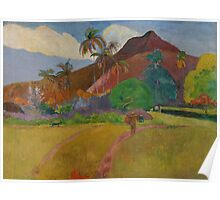 Tahitian Landscape, 1891  Poster