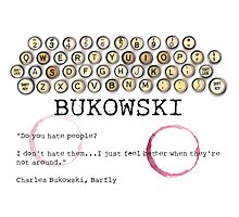 Bukowski - People by Bowie DS