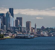 Downtown Seattle by Don Howard