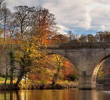 Prebends Bridge in Autumn by Great North Views