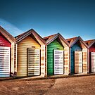 Blyth Beach Huts by Great North Views