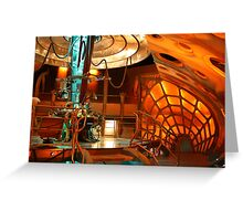 Doctor Who Tardis Interior Greeting Card