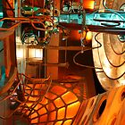 Doctor Who Tardis Interior by Katherine Case