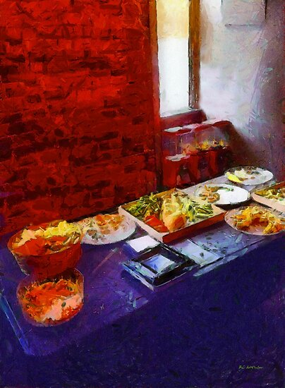 The Remains of the Feast by RC deWinter