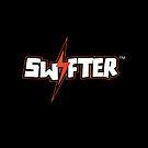 Swifter iPad Case - Black Horizontal by ChimneySwift11