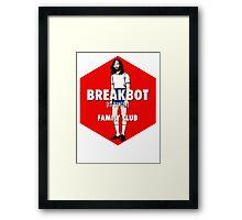 Breakbot - Family Club Framed Print