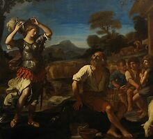 Erminia and the Shepherds, 1648 by Bridgeman Art Library