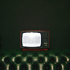 Watching TV, by Jip van Kuijk