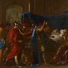 The Death of Germanicus, 1627 by Bridgeman Art Library