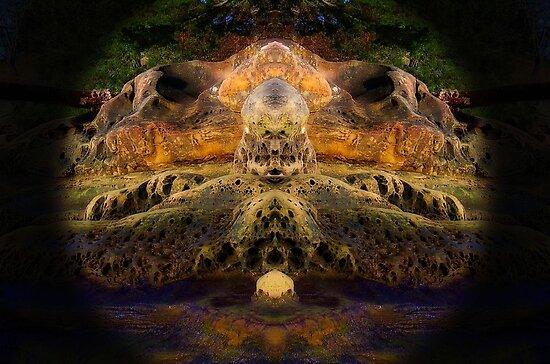 Gabriola Mystery Rock 4 by Max DeBeeson