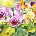 Pansies Delight #3 by bettymmwong