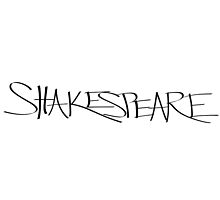 Shakespeare by Malia Lukomski