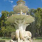 The Hochgurtel Fountain, Carlton Gardens, Melbourne Australia by Stephen  Shelley