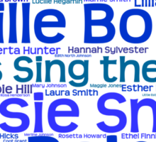 Ladies Sing the Blues Sticker
