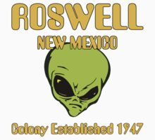 Roswell, New Mexico - Alien Colony Established 1947 by Chunga