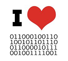 I Heart Binary by RedPine