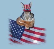 Patriotic Bunny Rabbit Kids Clothes