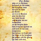 The Lord's Prayer iphone case by Vanessa Barklay